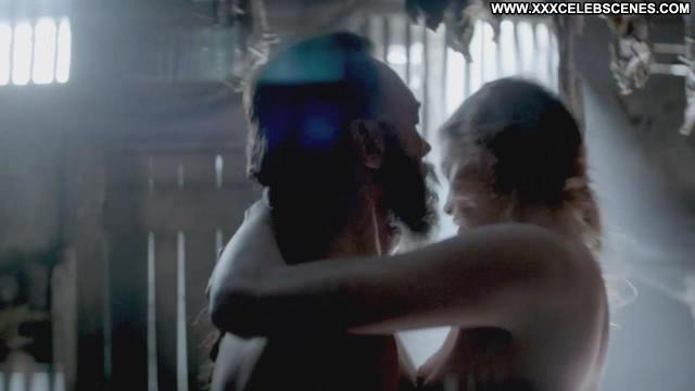 Alyssa Sutherland Vikings Nude Scene Babe Beautiful Breasts Big Tits