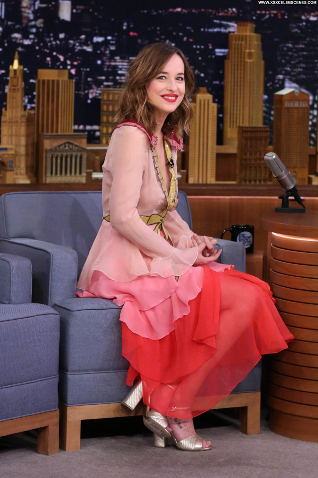 Dakota Johnson The Tonight Show Starring Jimmy Fallon Sultry