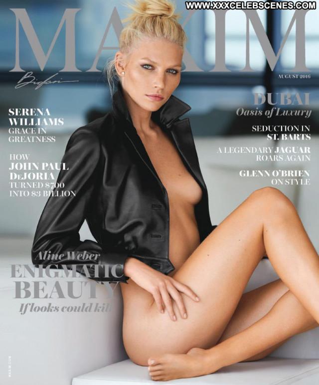 Aline Weber Maxim Magazine Beautiful Babe Magazine Posing Hot
