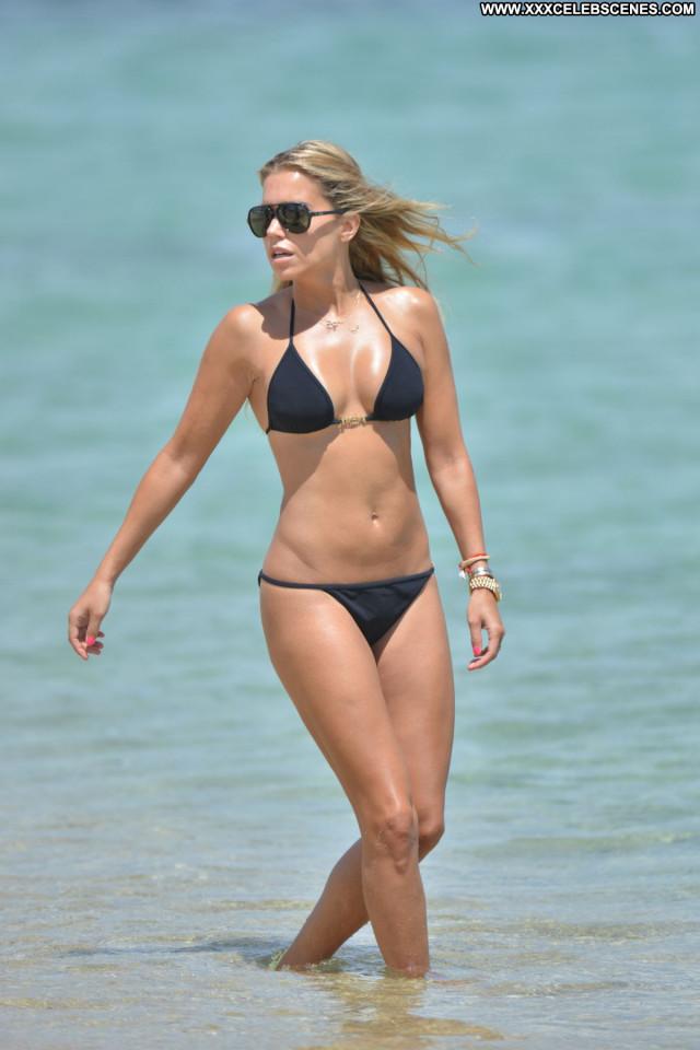 Sylvie Meis No Source Posing Hot Sexy Celebrity Beautiful Bikini