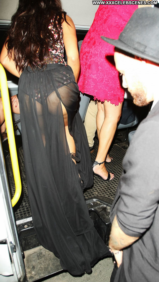 Leigh Anne Pinnock No Source Posing Hot Ebony Babe See Through Black