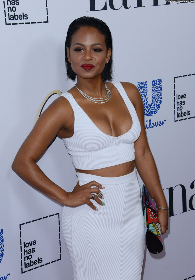 Christina Milian No Source Latina Cleavage Beautiful Singer Celebrity