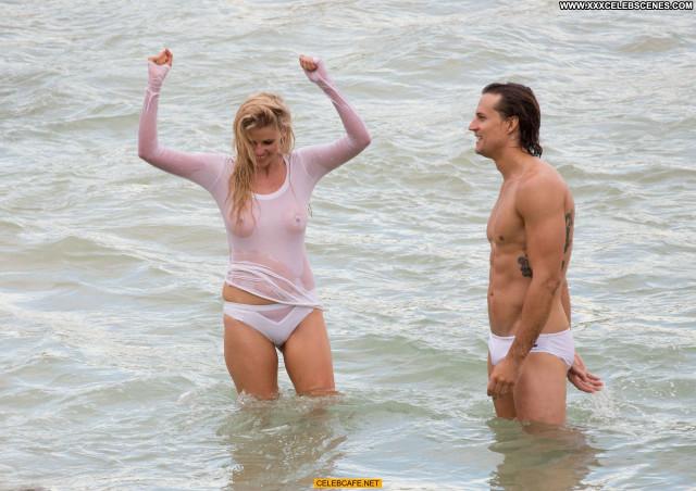 Lara Stone No Source Posing Hot Wet Beautiful See Through Celebrity