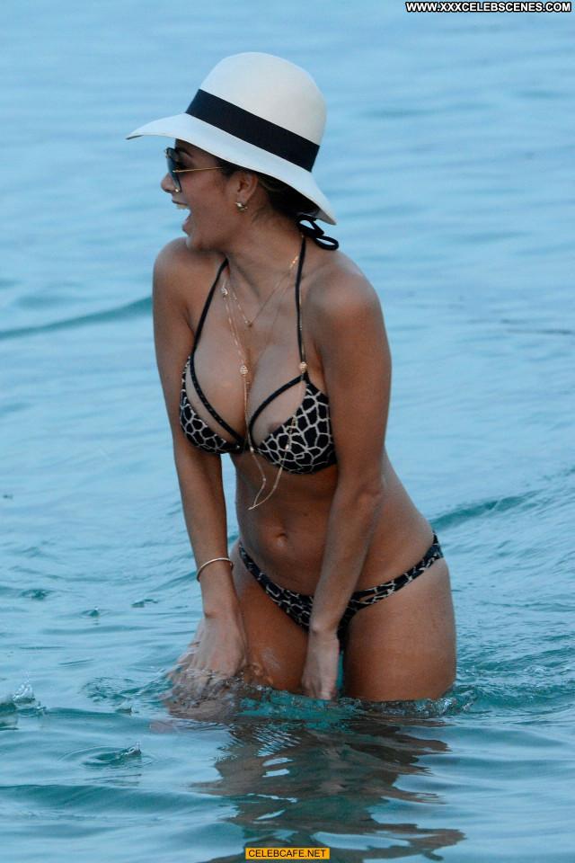 Nicole Scherzinger No Source  Babe Beach Nipple Slip Celebrity