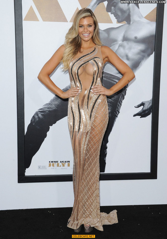 Samantha Hoopes Magic Mike Cleavage Babe Celebrity Sexy Posing Hot