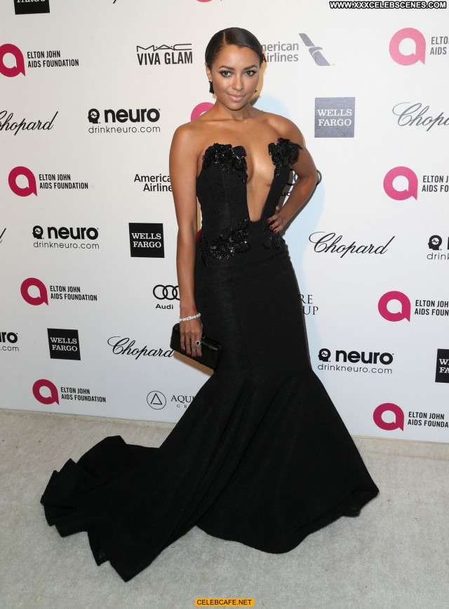 Kat Graham No Source Cleavage Beautiful Celebrity Awards Babe Party