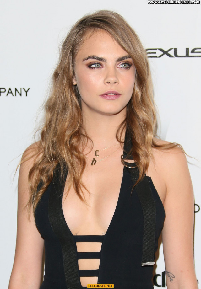 Cara Delevingne No Source Babe Celebrity Cleavage Beautiful Party