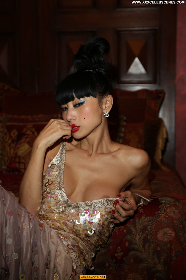 Bai Ling No Source Topless Toples Babe Beautiful Posing Hot Celebrity