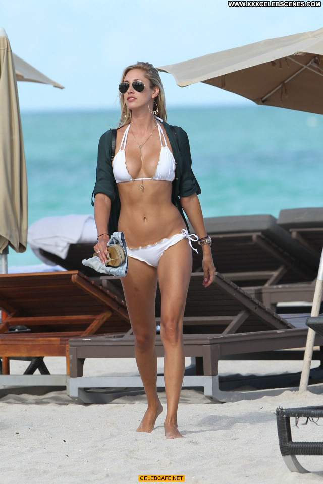 Lauren Stoner Miami Beach Posing Hot Beautiful Bikini Celebrity Babe