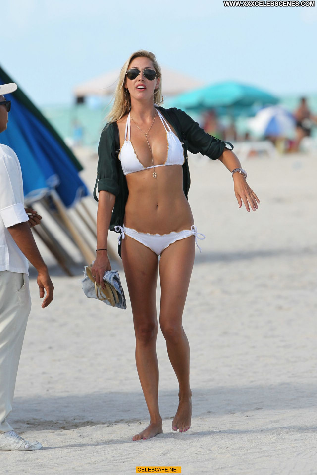 Lauren Stoner Miami Beach Bikini Beautiful Posing Hot Celebrity Beach