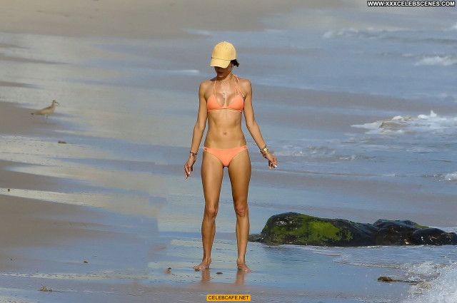 Alessandra Ambrosio The Beach In Malibu Malibu Beach Babe Bikini