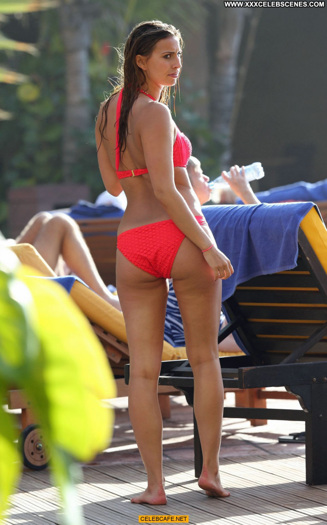 Ferne Mccann The Pool  Hot Posing Hot Hotel Pool Beautiful Babe