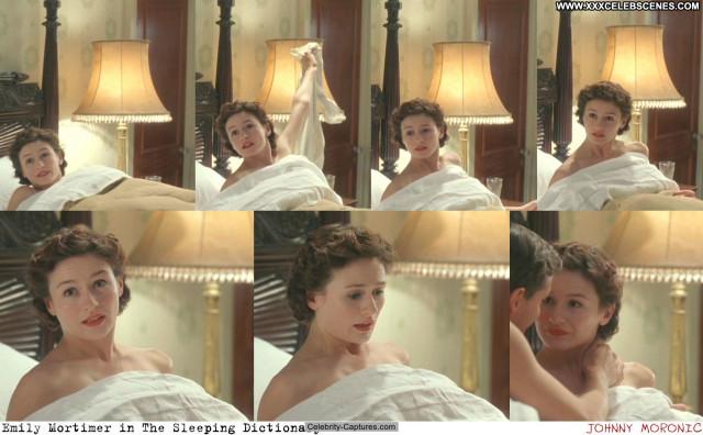 Emily Mortimer The Sleeping Dictionary  Posing Hot Sex Scene Sleeping