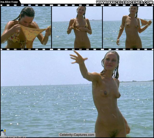 Ina Alice Kopp Oben Ohne  Posing Hot Babe Sex Scene Celebrity