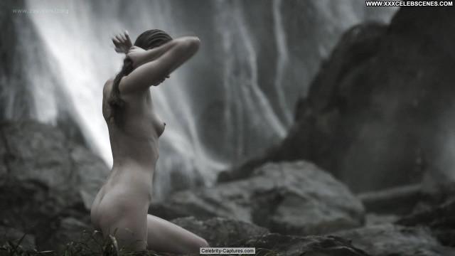 Alyssa Sutherland Vikings  Babe Sex Scene Posing Hot Beautiful