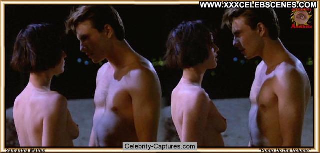 Samantha Mathis Pump Up The Volume Topless Posing Hot Sex Scene
