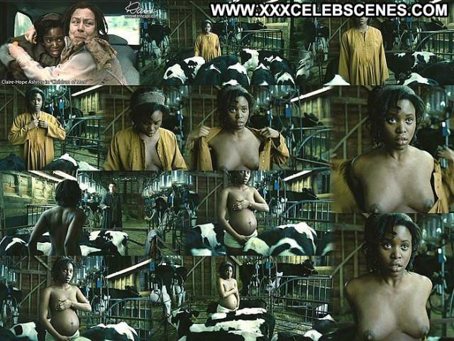 Claire Hope Ashitey Images Posing Hot Big Tits Pregnant Babe