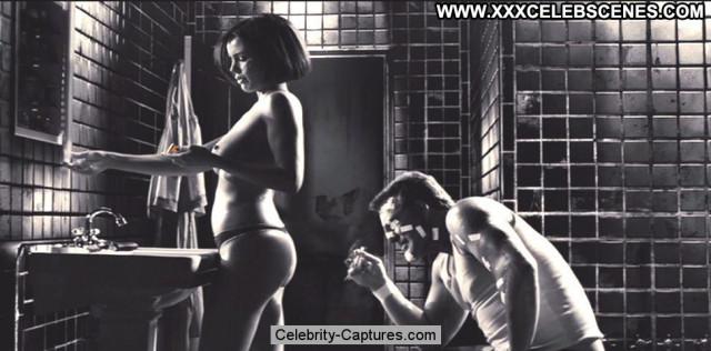 Carla Gugino Sin City Beautiful Sex Scene Toples Topless Posing Hot