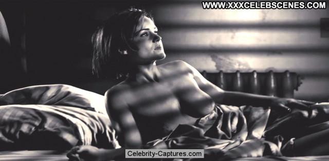 Carla Gugino Sin City  Sex Scene Black Toples Celebrity Beautiful