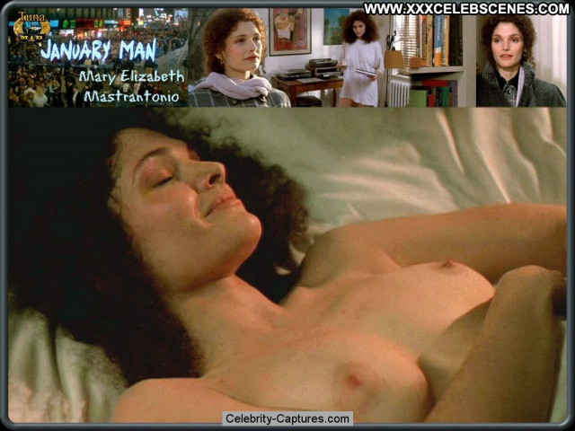 Mary Elizabeth Mastrantonio January Man Sex Scene Toples Babe Topless
