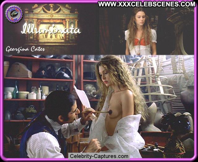 Georgina Cates Images Posing Hot Babe Beautiful Sex Scene Celebrity