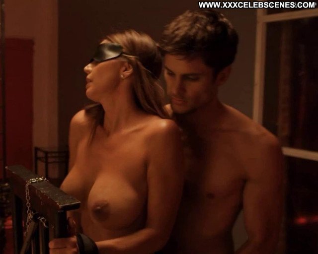 Charisma Carpenter No Source Movie Beautiful Posing Hot Babe Car Nude