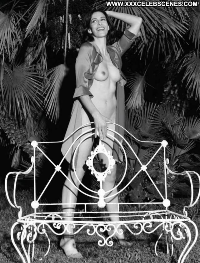 Ulrike Frank No Source Beautiful Bed Posing Hot German Breasts Heels