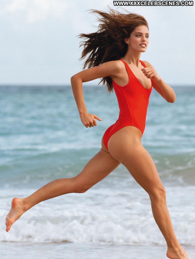 Emily Didonato Sports Illustrated Swimsuit See Through Shirt Photo