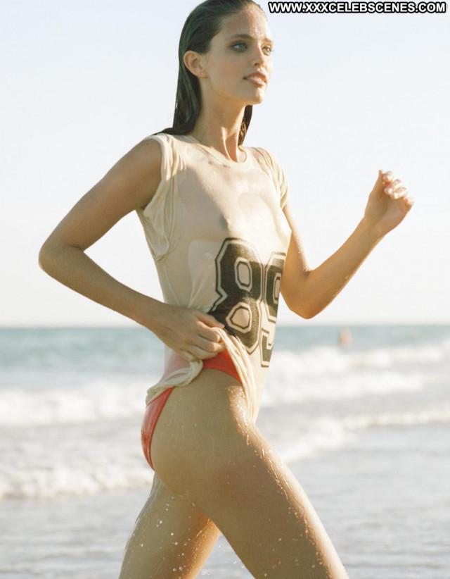 Emily Didonato Sports Illustrated Swimsuit Magazine Beach Wet Nipples