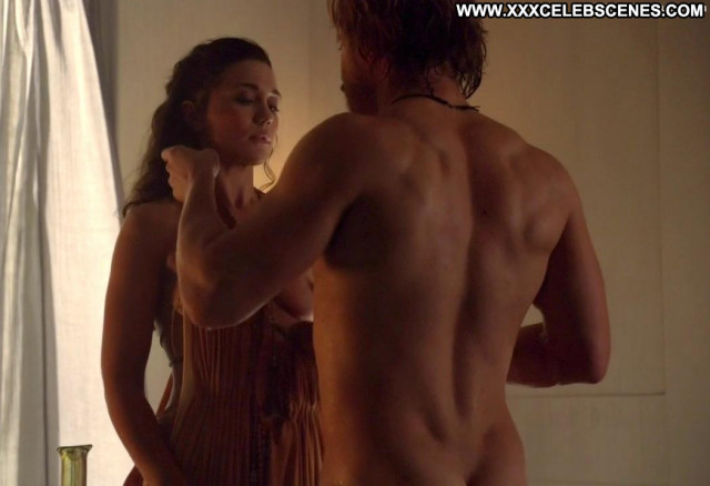 Jenna Lind Spartacus Blood And Sand Posing Hot Big Tits Breasts Spa