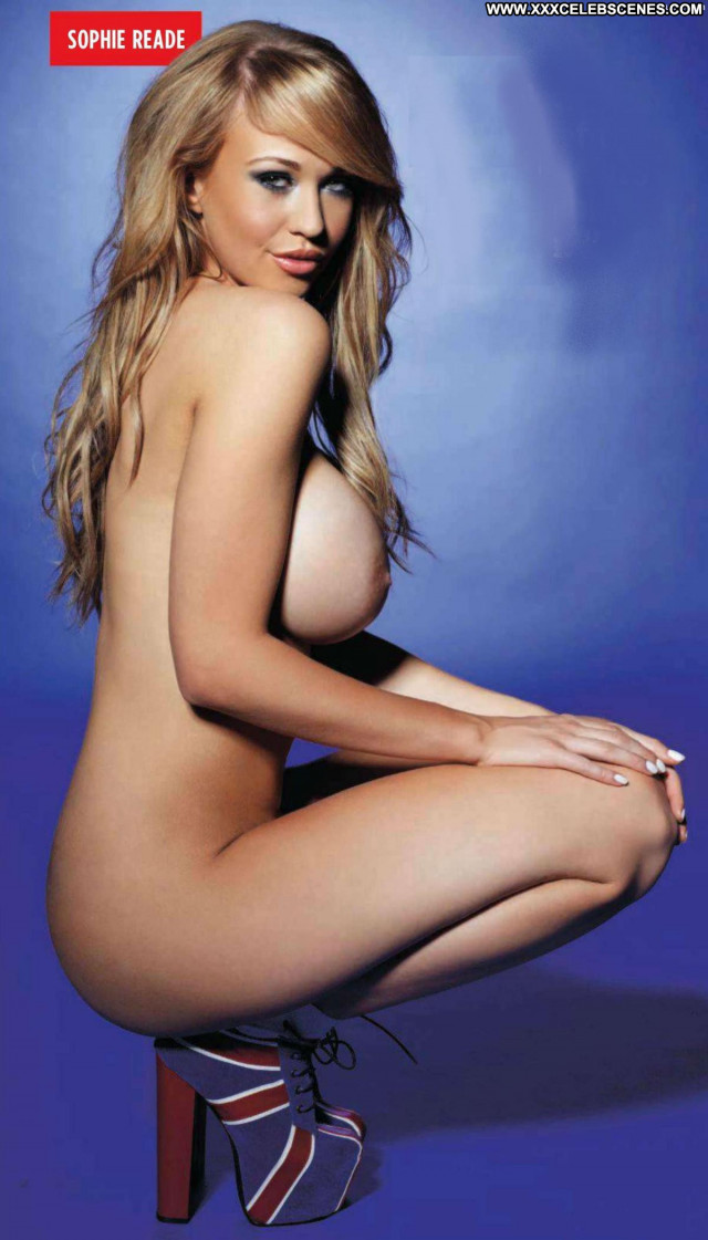 Sophie Reade Pretty Face Couple Celebrity Sofa Uk Breasts Posing Hot
