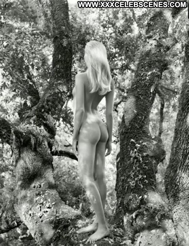 Natasha Poly Pirelli Calendar Famous Model Wet Beautiful Forest