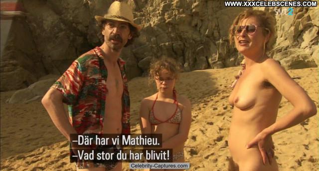 Sandrine Bodenes Le Skylab Sex Scene Babe Celebrity Nude Posing Hot