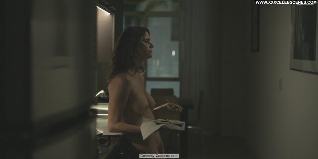 Amy Landecker Transparent Bush Nude Bus Sex Scene Breasts Hairy