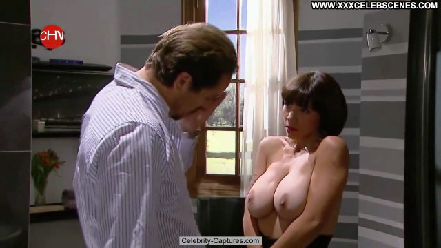 Noelia Arias Infiltradas Topless Celebrity Babe Big Tits Posing Hot