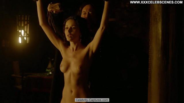 Karen Hassan Vikings Sex Scene Movie Babe Celebrity Posing Hot