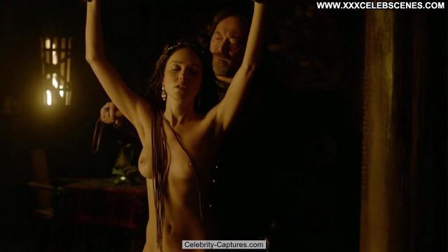 Karen Hassan Vikings Beautiful Sex Scene Movie Babe Posing Hot
