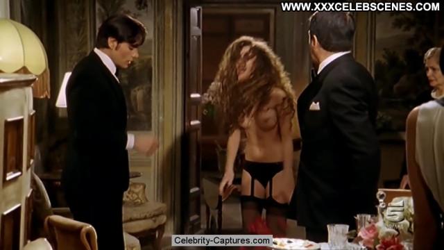 Adua Del Vesco Valentino Topless Celebrity Posing Hot Toples