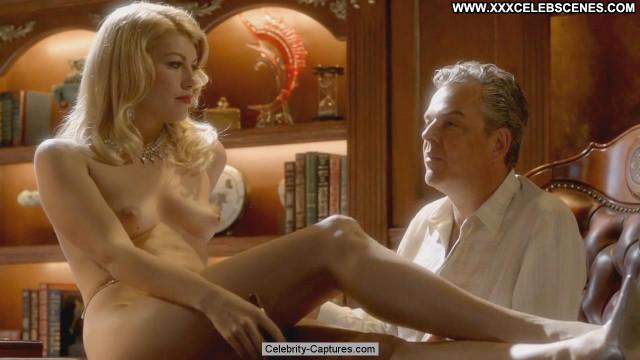 Meredith Ostrom Magic City Posing Hot Tits Sex Scene Celebrity