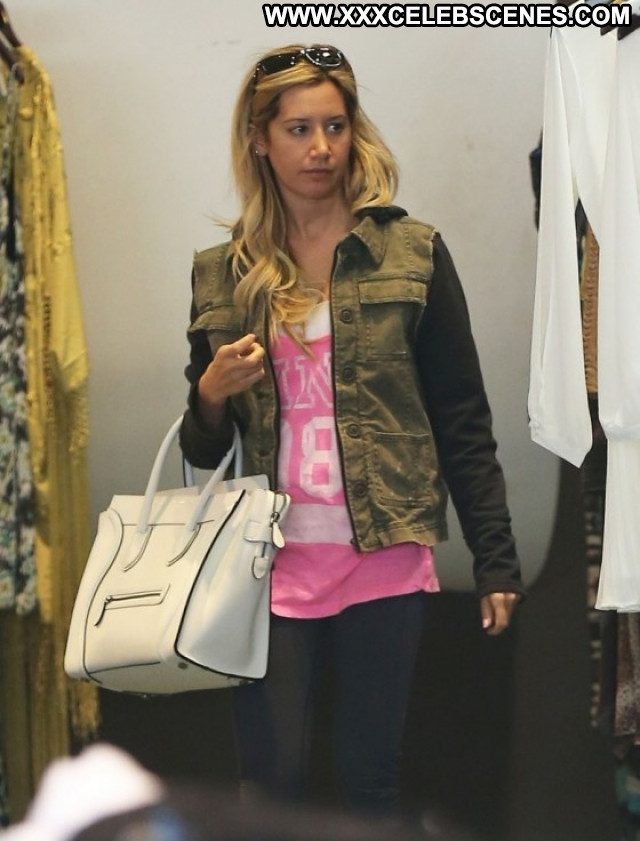Ashley Tisdale Los Angeles Candids Babe Angel Paparazzi Shopping