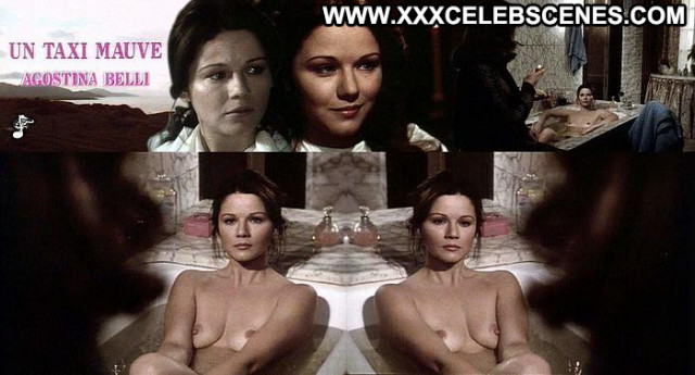 Agostina Belli Un Taxi Mauve  Babe Nude Posing Hot Sex Scene