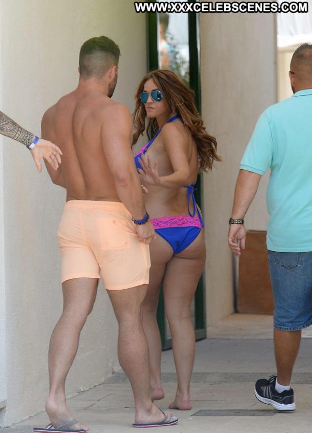 Vicky Pattison Pool Party Paparazzi Bikini Party Posing Hot Babe