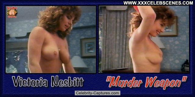 Victoria Nesbitt Murder Weapon Posing Hot Babe Nude Sex Scene