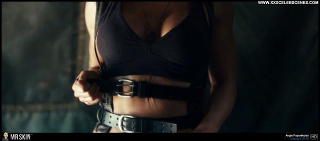 Angie Papanikolas Cyborg X Sultry Big Tits Celebrity Brunette