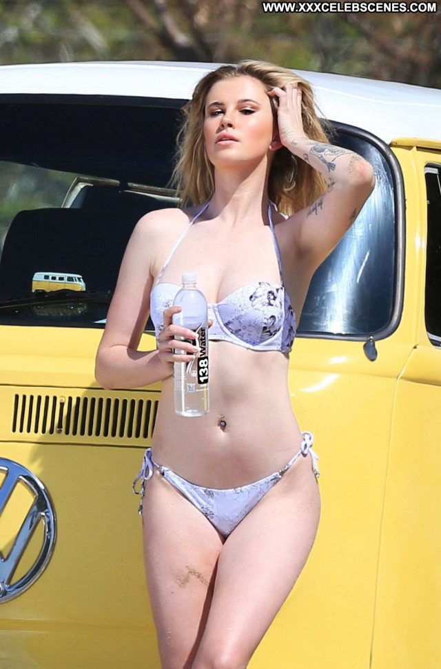 Ireland Baldwin The Interview Posing Hot Ireland Bikini New York
