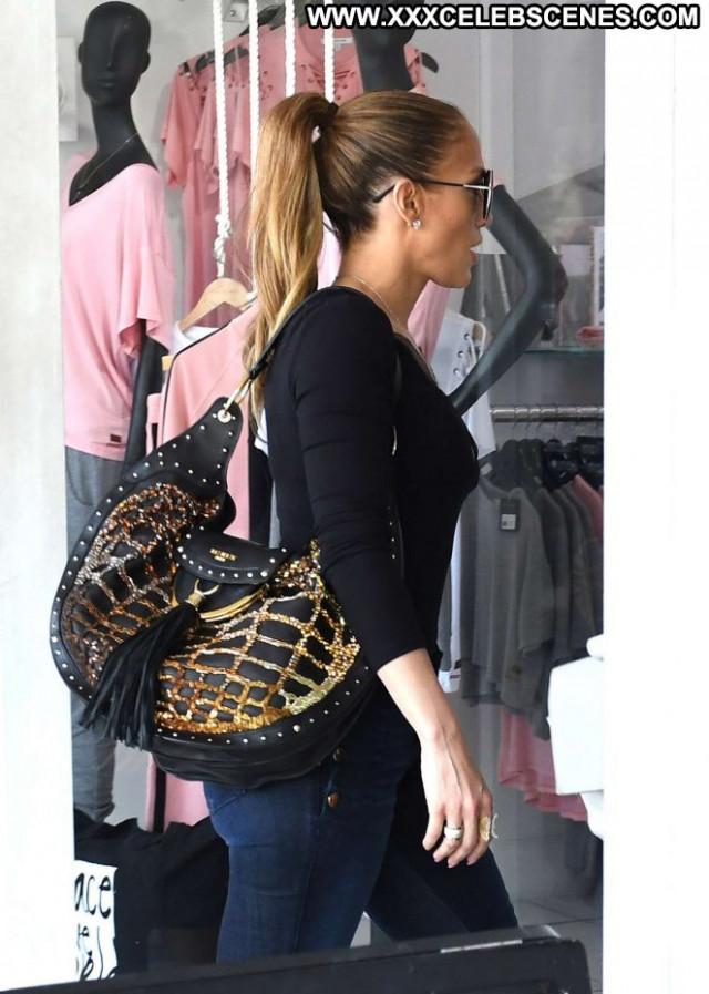 Jennifer Lopez No Source Posing Hot Babe Jeans Paparazzi Beautiful