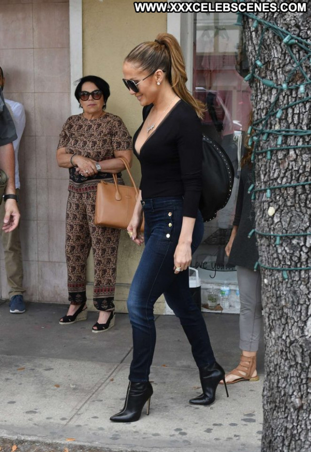Jennifer Lopez No Source Beautiful Jeans Celebrity Paparazzi Babe