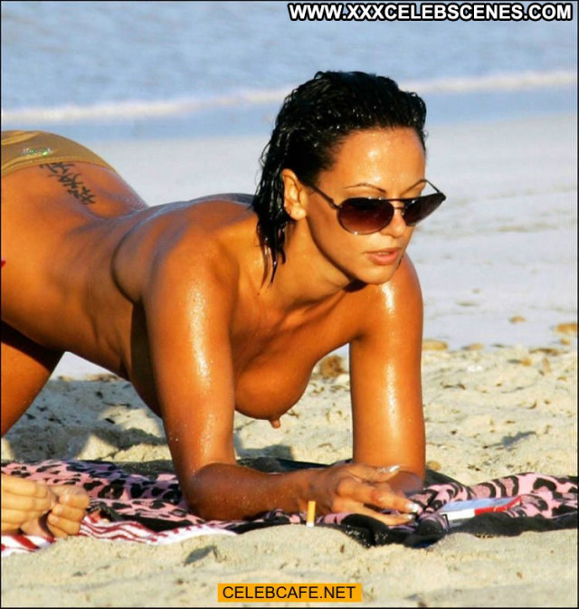 Nereida Gallardo No Source Posing Hot Celebrity Beach Babe Toples