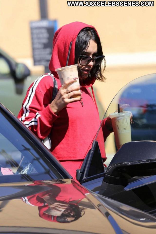 Vanessa Hudgens Studio City Posing Hot Babe Beautiful Paparazzi