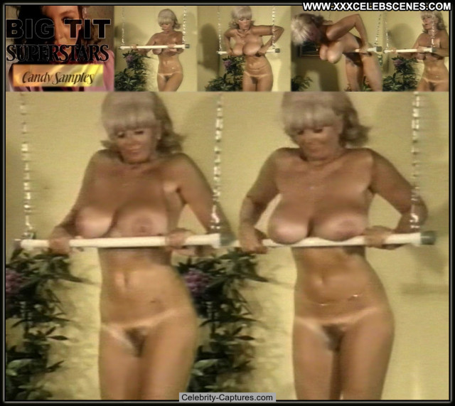 Candy Samples Big Bust Superstars Bus Posing Hot Beautiful Pussy Babe